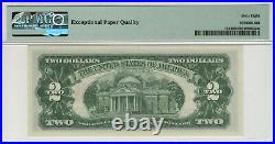 1963 A $2 Legal Tender Note Red Seal Fr. 1514 Pmg Superb Gem Unc 68 Epq (275a)