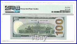 2013 $100 New York Frn, Pmg Superb Gem Uncirculated 67 Epq Banknote
