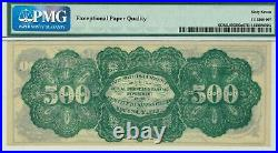 Quincy Illinois $500 First National Bank. PMG 67 EPQ SUPERB GEM Uncirculated